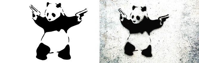 Stick'em Up Art Stencil